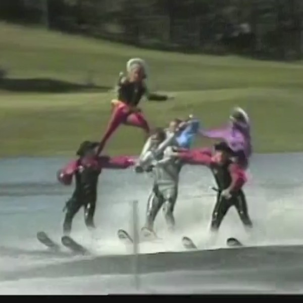 Flashback Friday: Water skiing show in Custer in 1986
