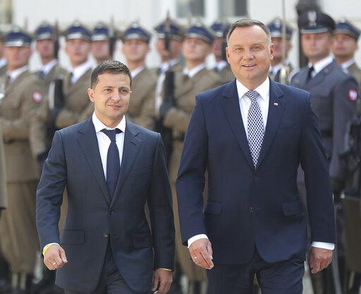 Andrzej Duda, Volodymyr Zelenskiy