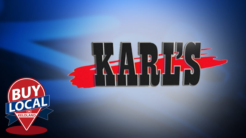 Buy Local at Karl's TV and Appliance