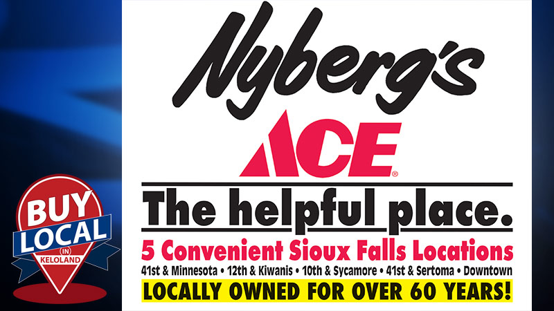 Buy Local at Nyberg's Ace