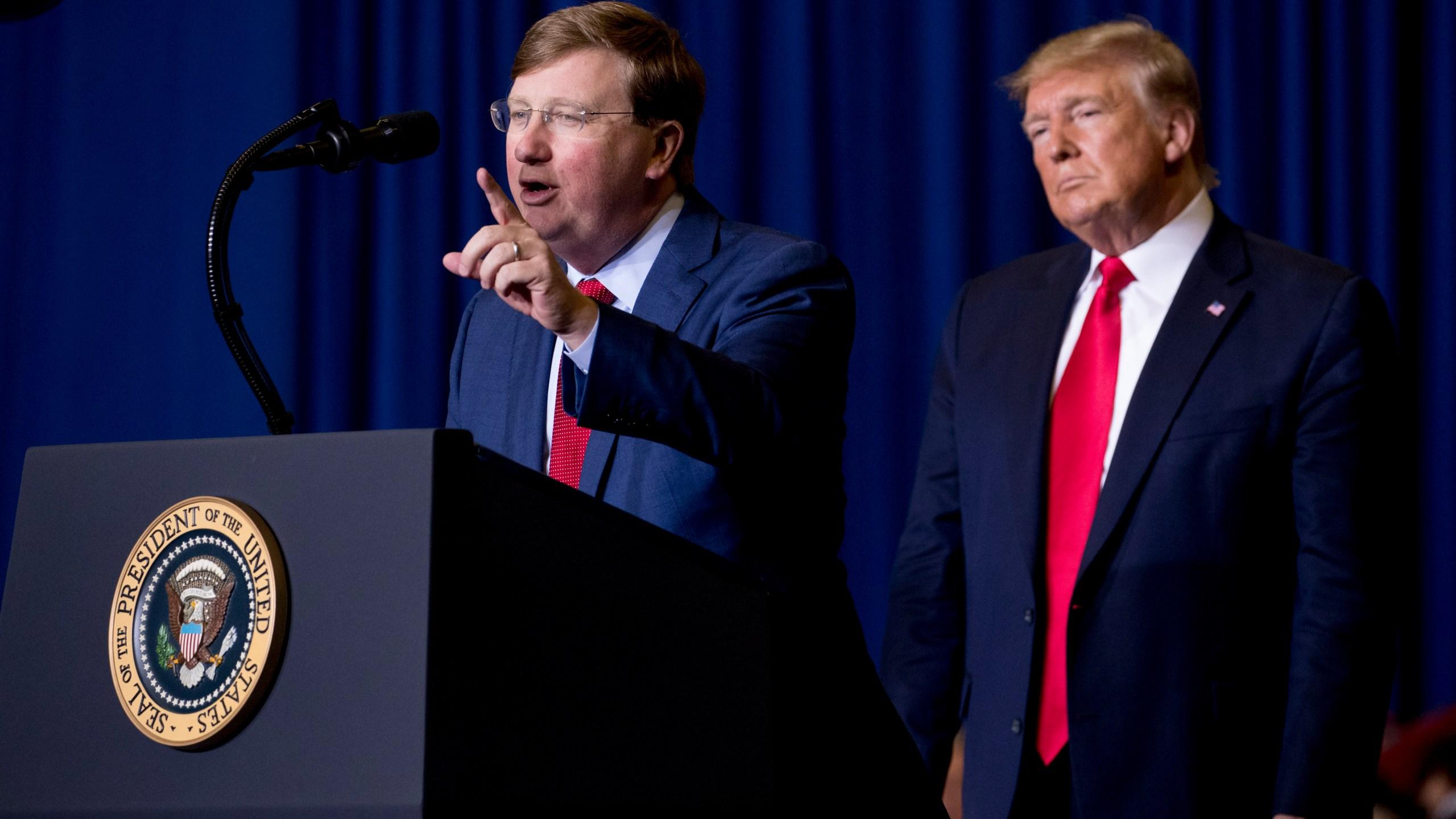 Donald Trump, Tate Reeves