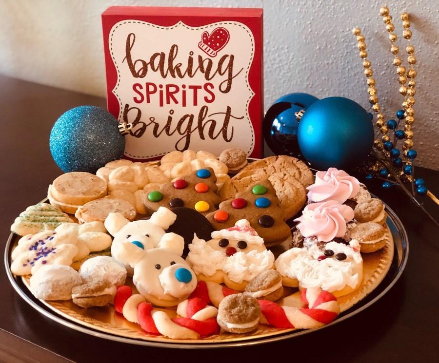 Amber Whisk cookie platter