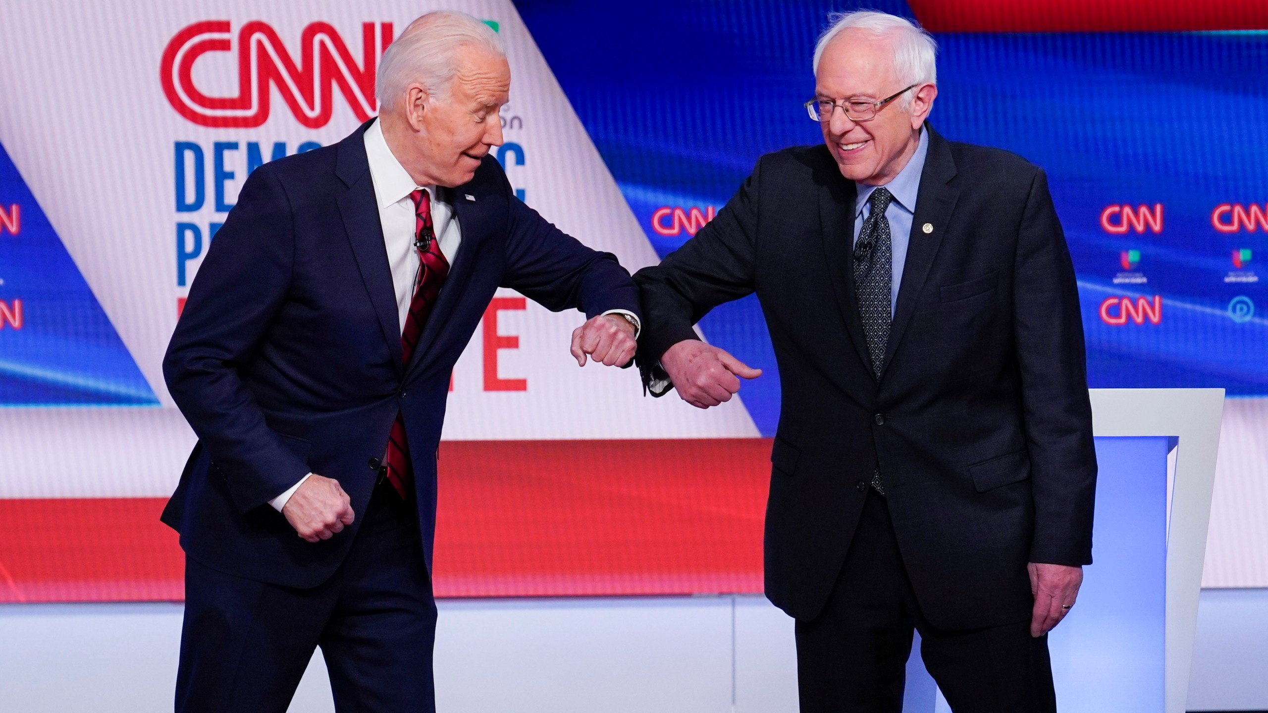Joe Biden, Bernie Sanders