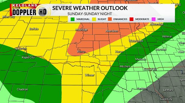 Storm Center Pm Update Saturday June 6 More Storms Likely Sunday Hot Tomorrow And Monday Keloland Com