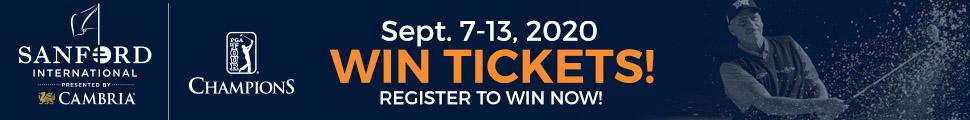 Win Sanford International Tickets!