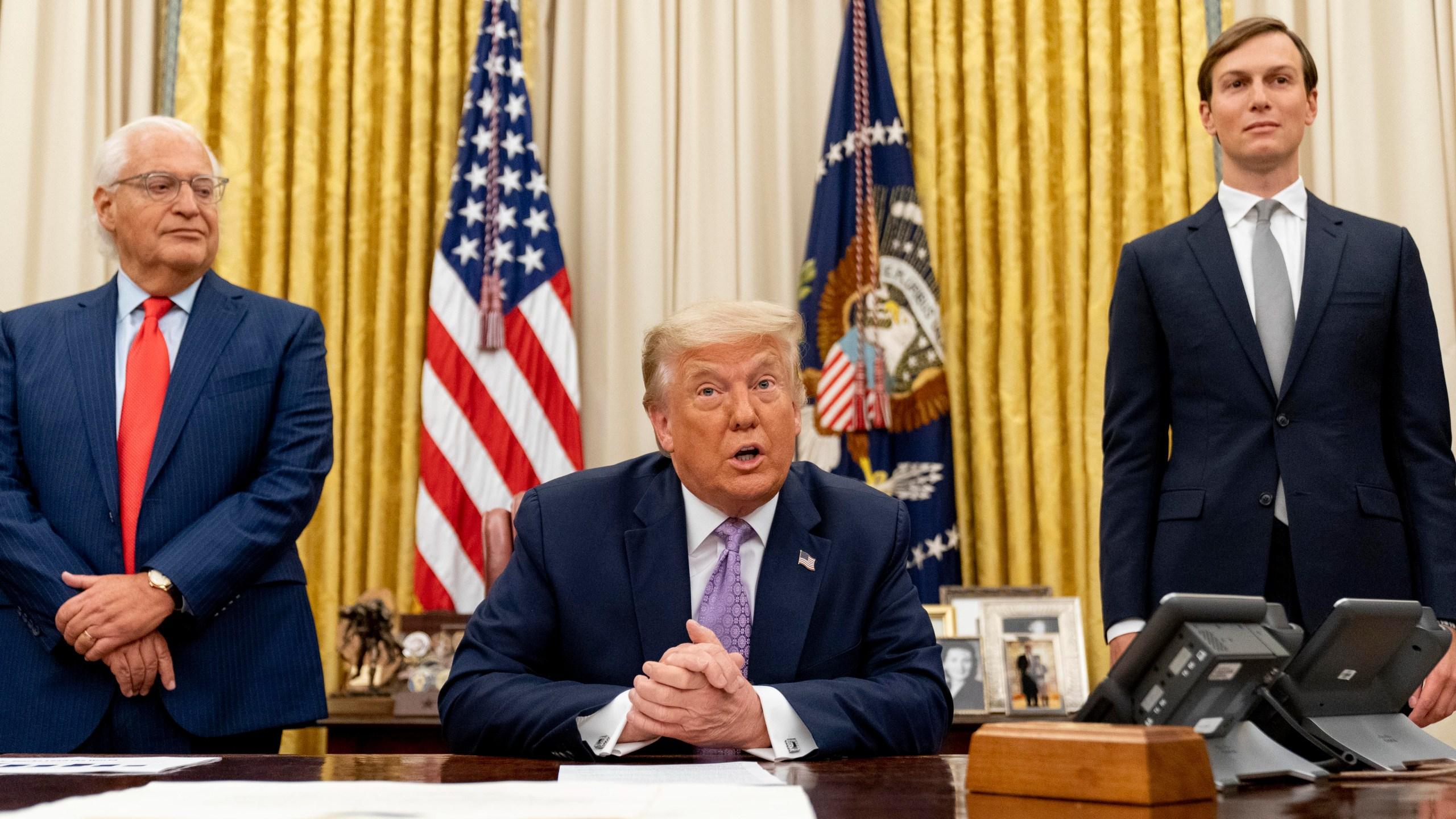 Donald Trump, David Friedman, Jared Kushner