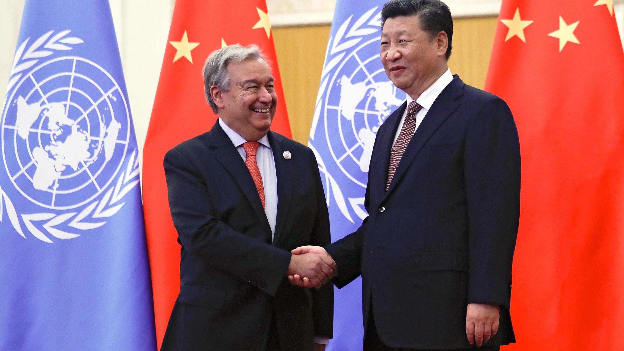Antonio Guterres, Xi Jinping