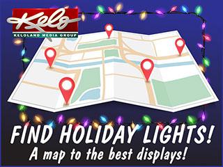 Holiday Lights Map