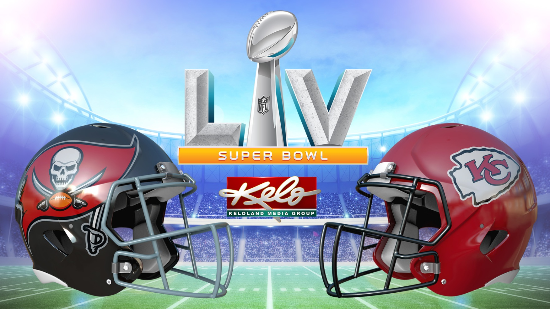 This image has an empty alt attribute; its file name is Super-Bowl-55-LV-KELO-logo-WIDE-Tampa-Bay-Buccaneers-vs-Kansas-City-Chiefs-01.jpg