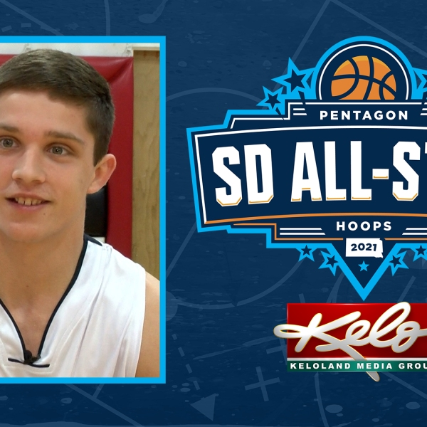 KELOLAND Media Group Sanford Pentagon All-Star nominee Connor Libis of Dell Rapids St. Mary