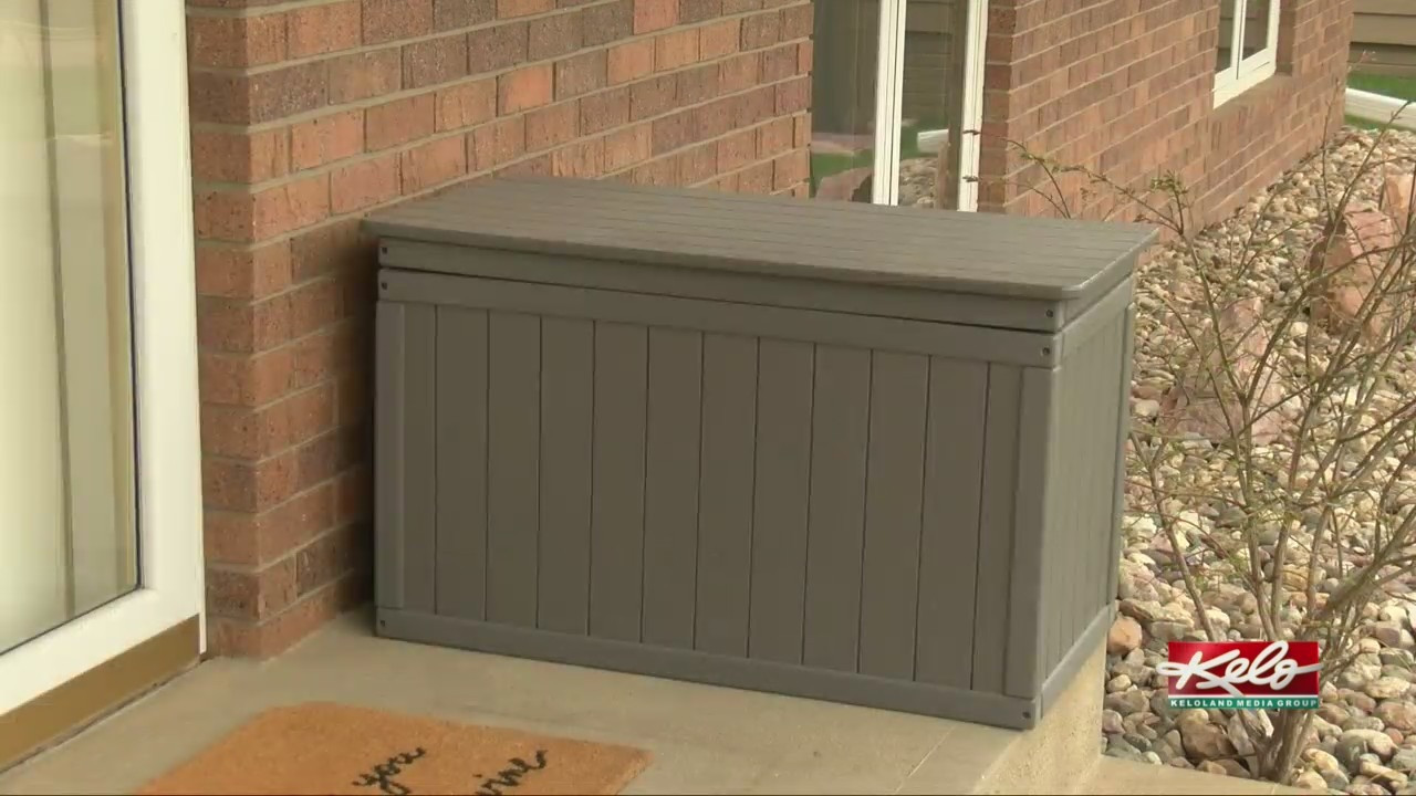 Sioux Falls inventor wants to stop porch pirates from stealing packages