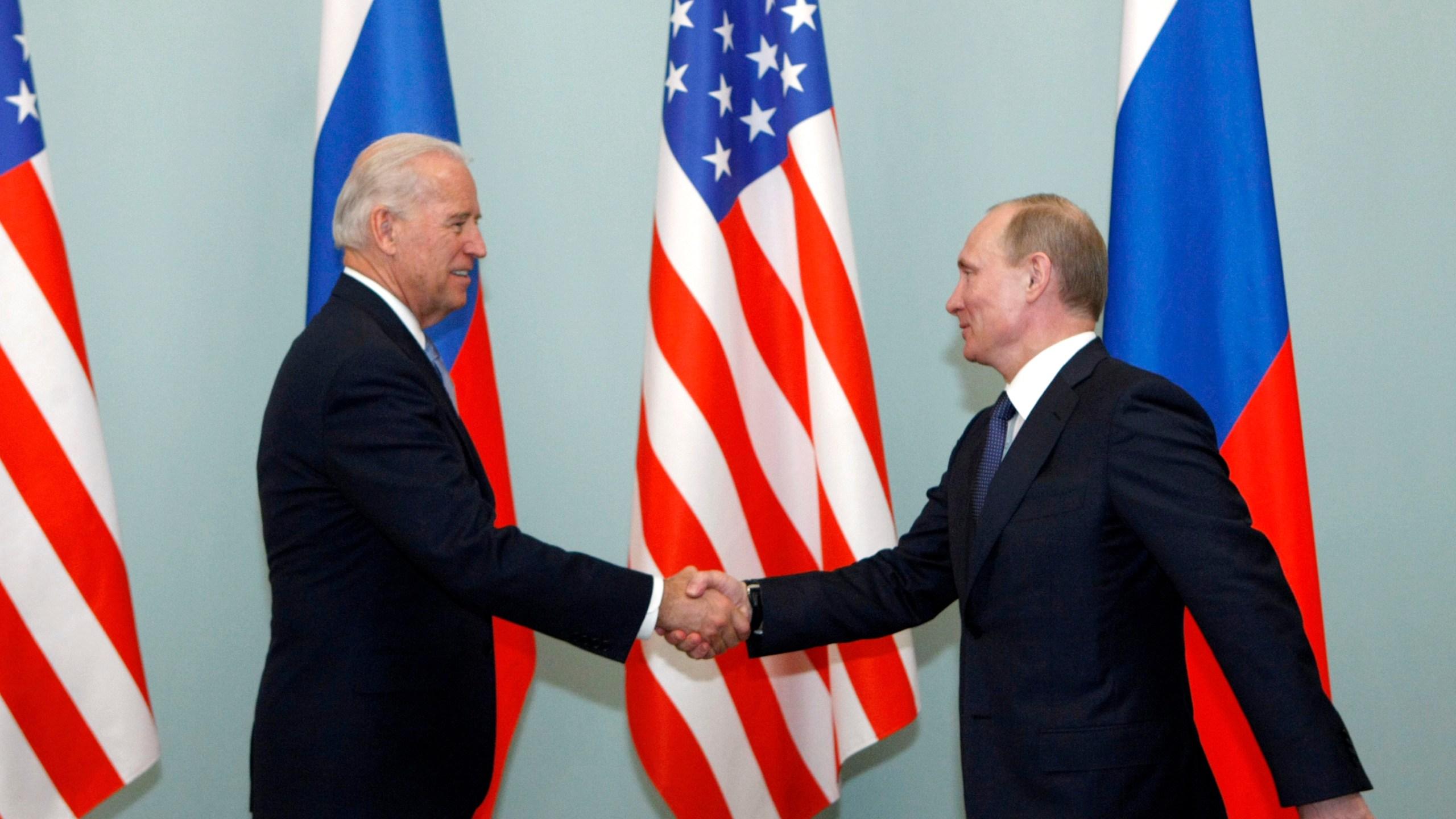 Joe Biden, Vladimir Putin