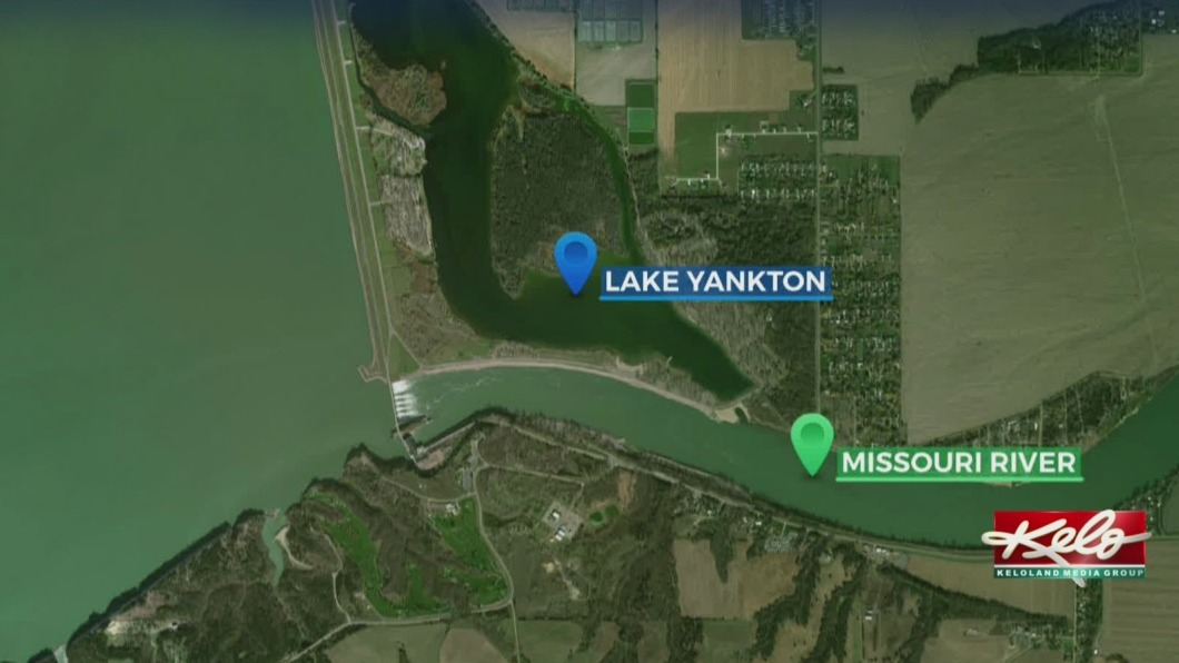 Lake Yankton Map KELO